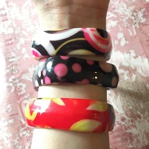 3 Colorful Children's bracelets New Without Tags